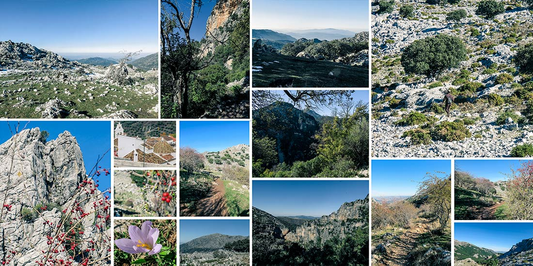 hiking trails andalusia